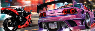 racing games category header